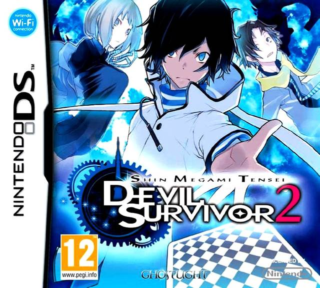 Shin Megami Tensei Devil Survivor 2 EU cover