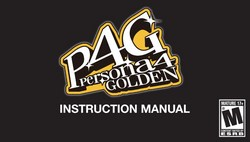 Persona 4 Golden Manual