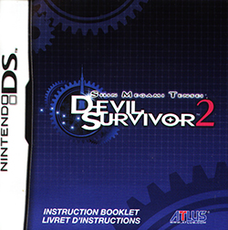 Shin Megami Tensei: Devil Survivor 2 Instruction Booklet