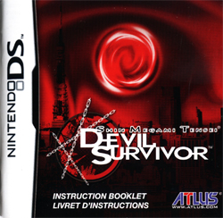 Shin Megami Tensei: Devil Survivor Instruction Booklet