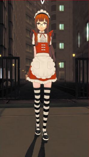 Futaba Maid Costume
