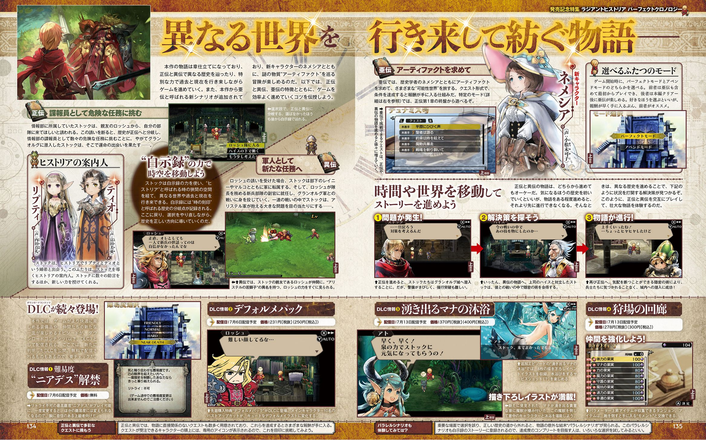 Radiant Historia: Perfect Chronology Famitsu #1491 Scan