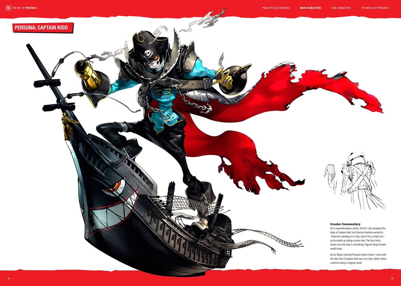 Art of Persona 5 Preview