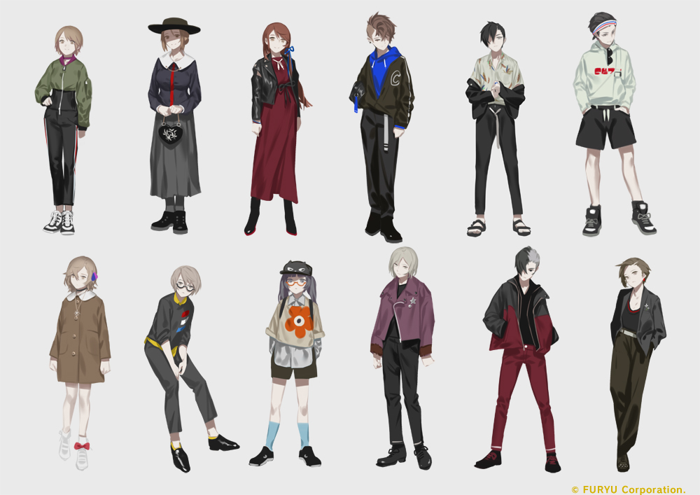 The Caligula Effect: Overdose costume DLC Plain Clothes