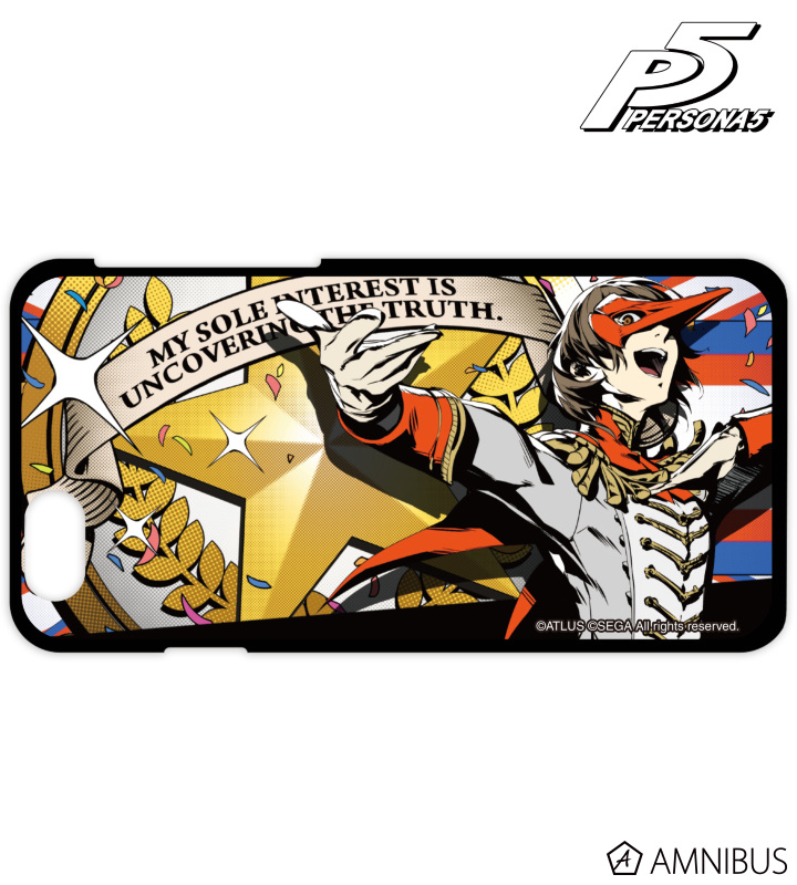 Amnibus P5 All Out Attack iPhone Case 8