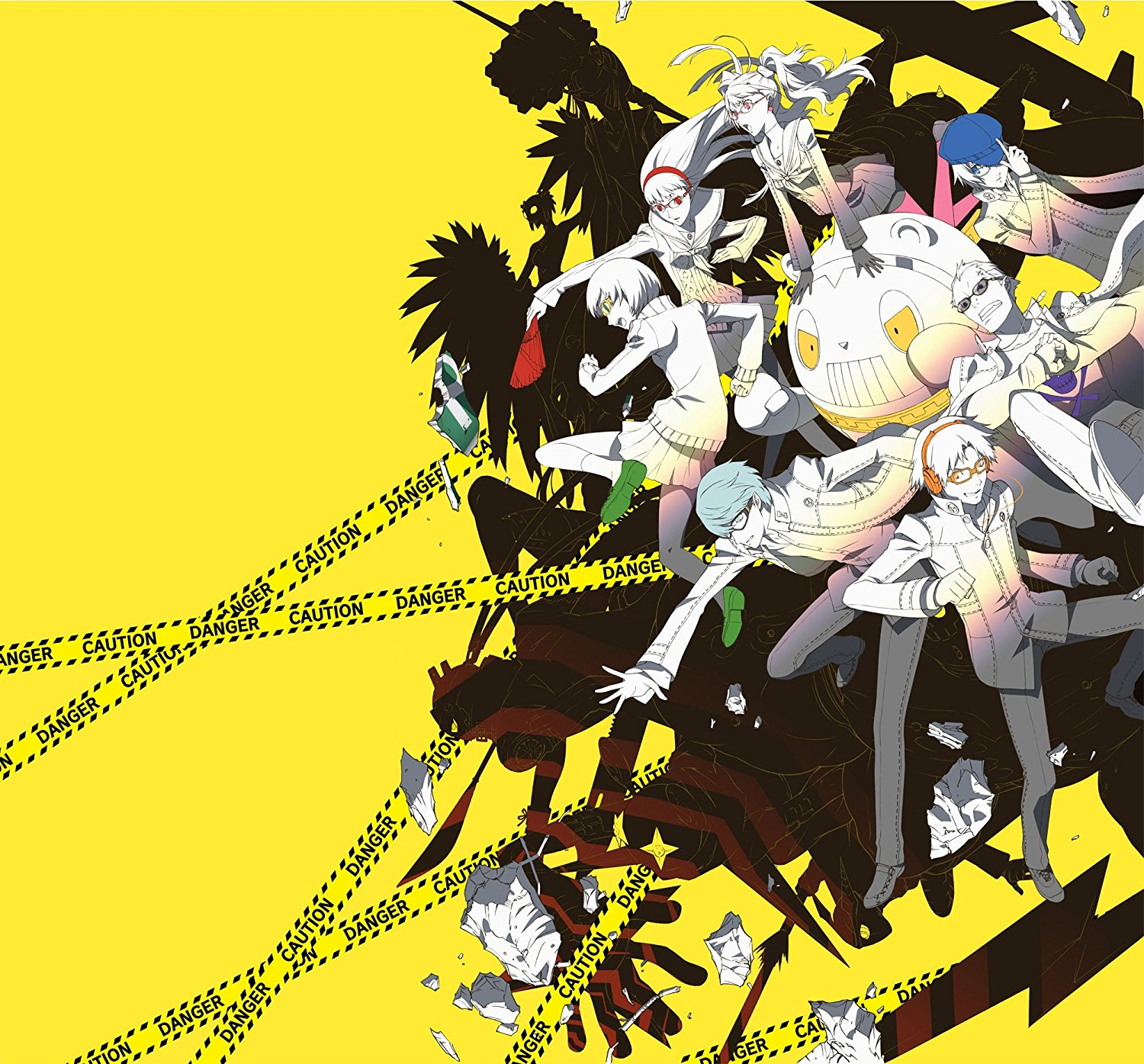 Persona 4 the Animation OST Key Art