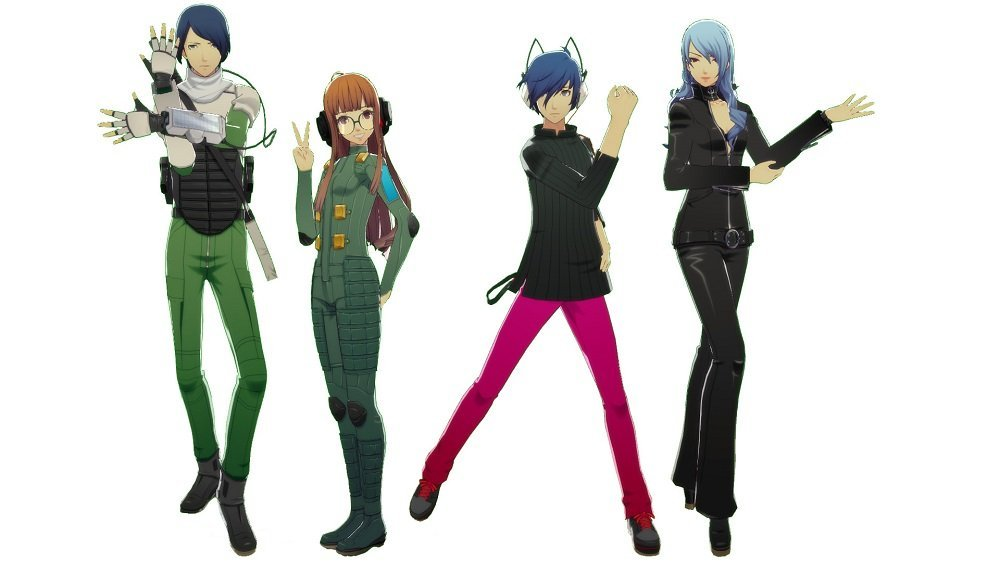P3D and P5D DLC Costumes