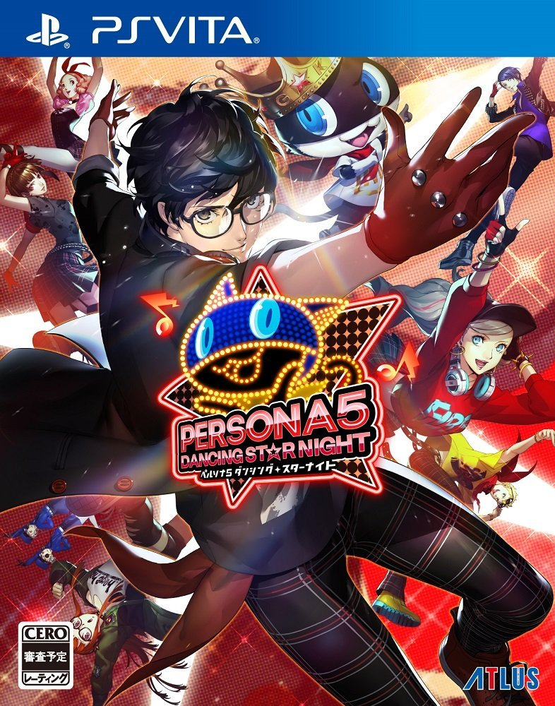 Persona 5 Dancing Star Night PS VIta Box
