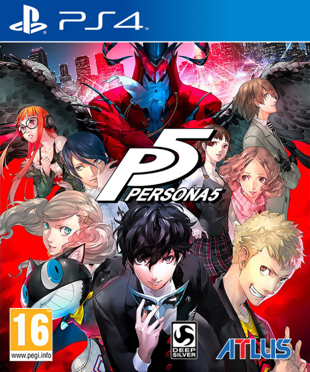 Persona 5 EUR front cover
